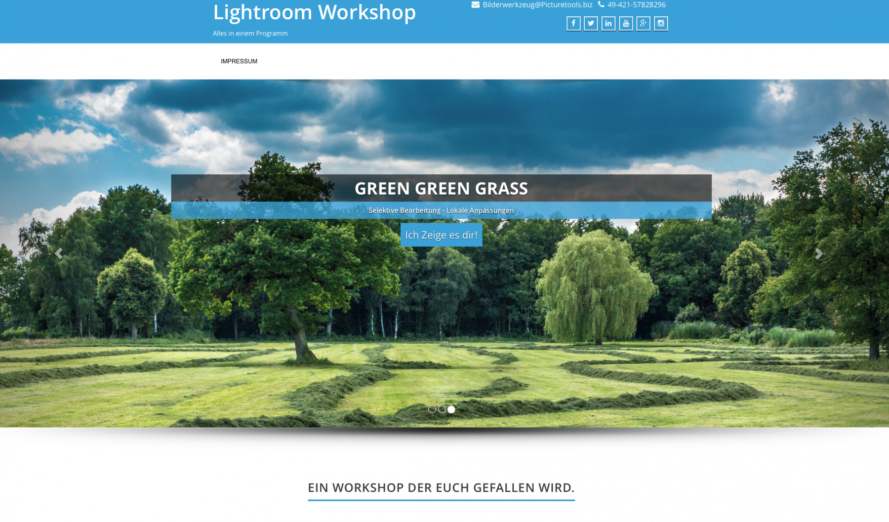 Lightroom-Webside